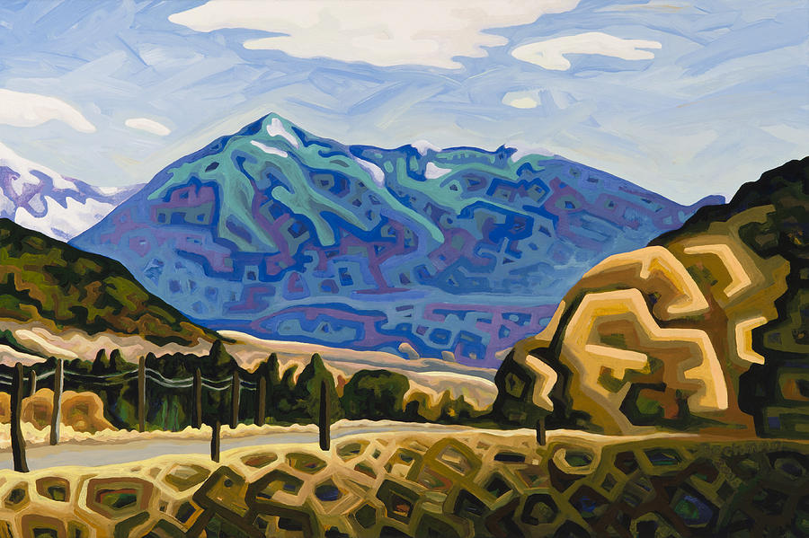 Montana Painting - Approaching Garrison Junction by Dale Beckman