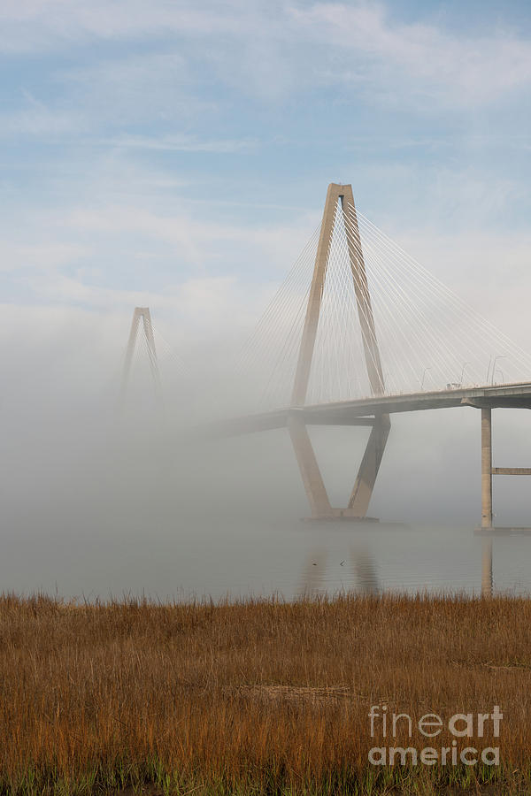 Arches Of Fog Photograph