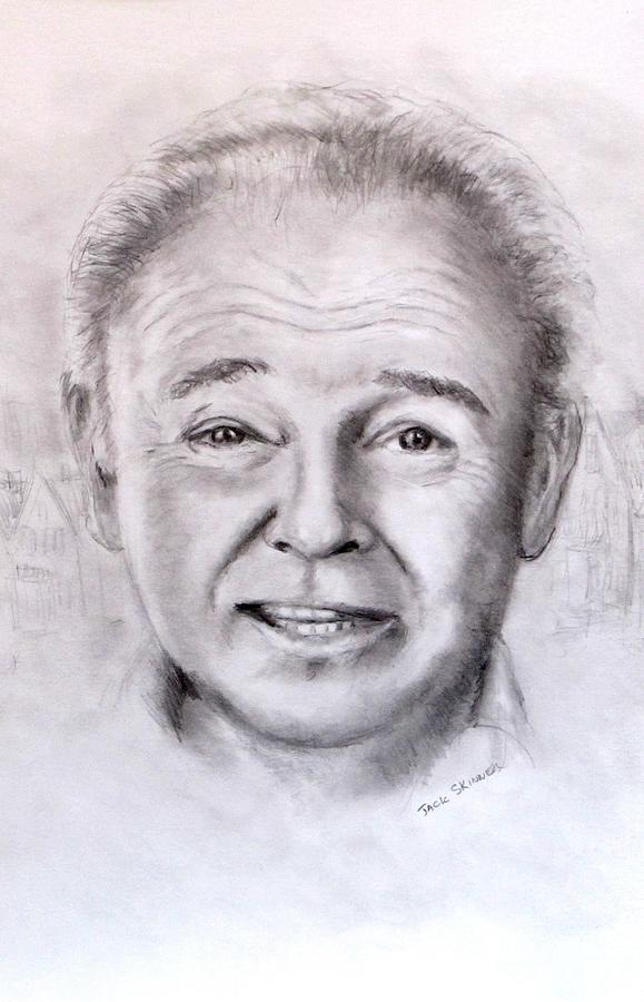 Archie Bunker Drawing - Archie by Jack Skinner