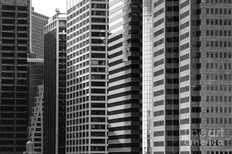 New York City Photograph - Architecture Nyc Bw by Chuck Kuhn