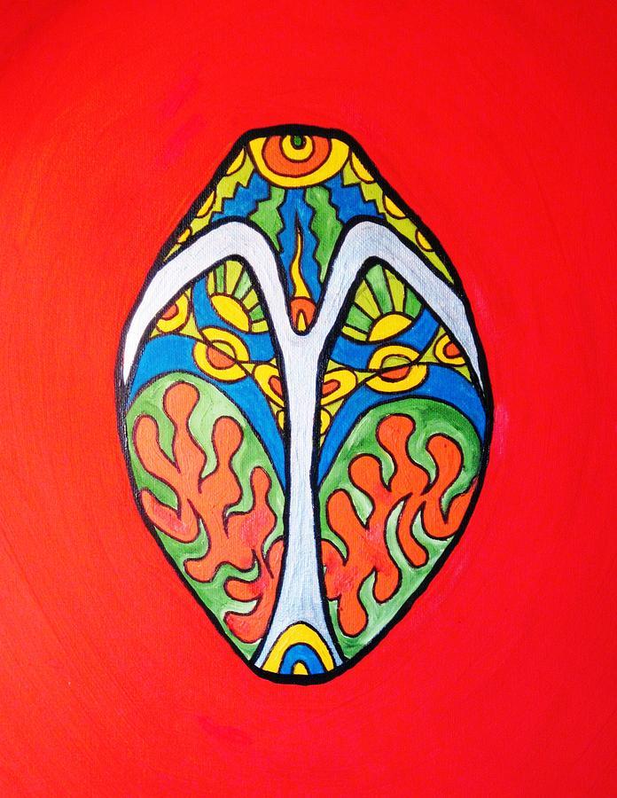 Zodiac Art Painting - Aries by Alfredo Dane Llana