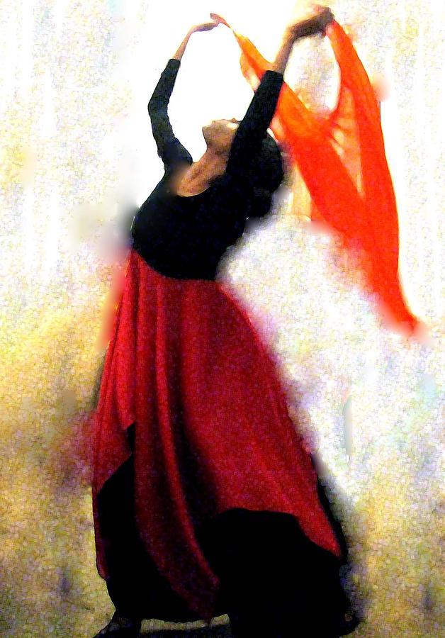 Dancer Painting - Arise And Shine by Linda Harris-Iorio