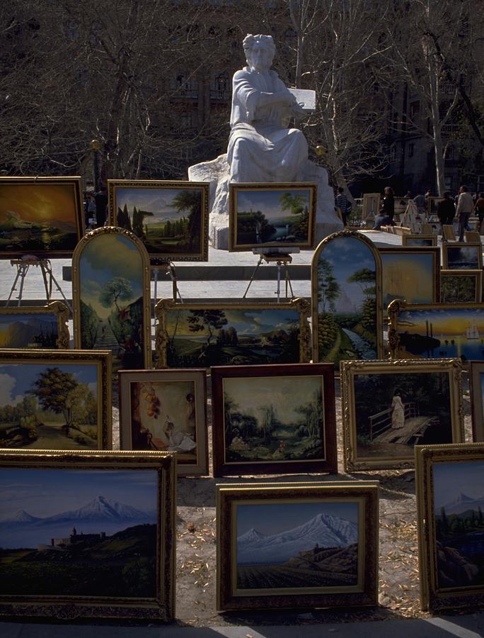 Armenian Art In The Park Photograph