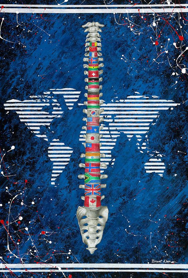 Around The World Painting
