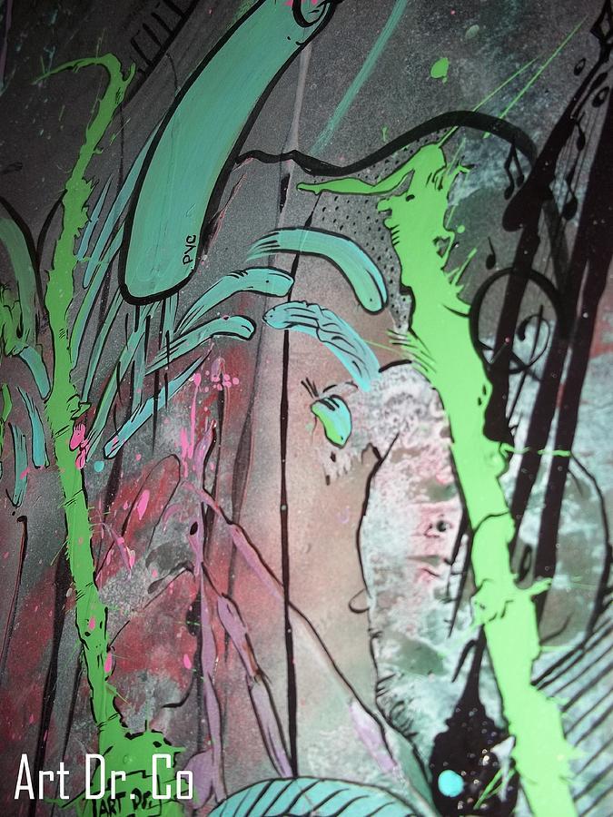 Art Dr. Co Painting - Art Dr Co. by Jose J Montee Montejano