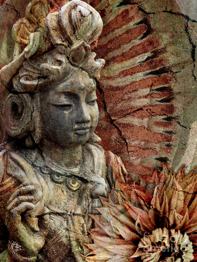 Buddhist Painting - Art Of Memory by Christopher Beikmann
