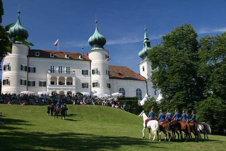 Artstetten Castle In June Photograph
