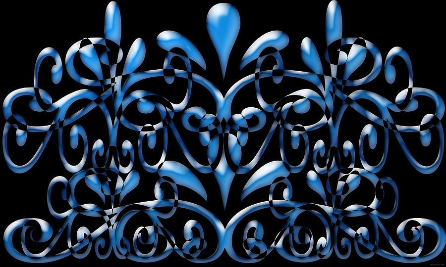 Digital Art Digital Art - Artwork 105 by Evelyn Patrick