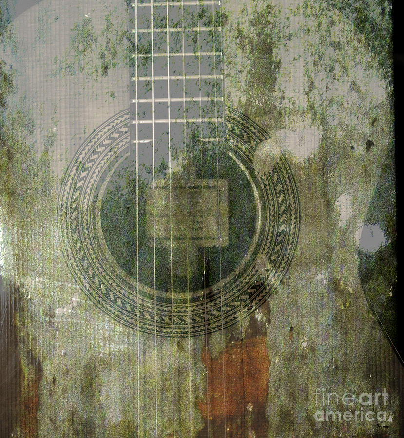 Music Photograph - As In The Classical Measure Of Time by Steven  Digman