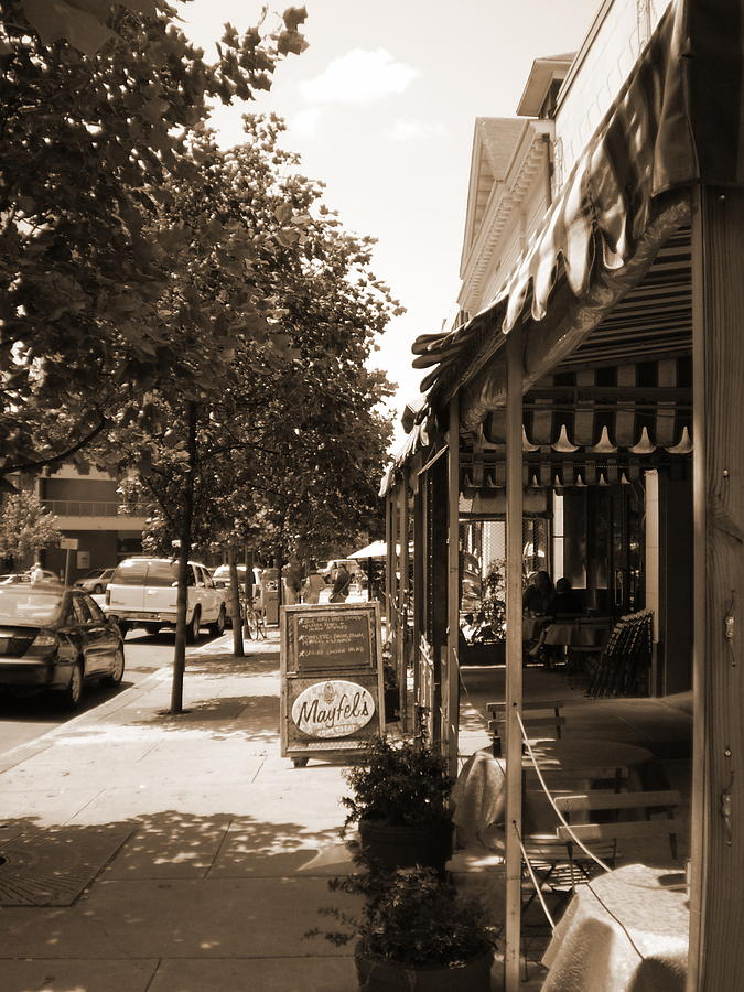 Asheville Photograph - Asheville Street by Utopia Concepts