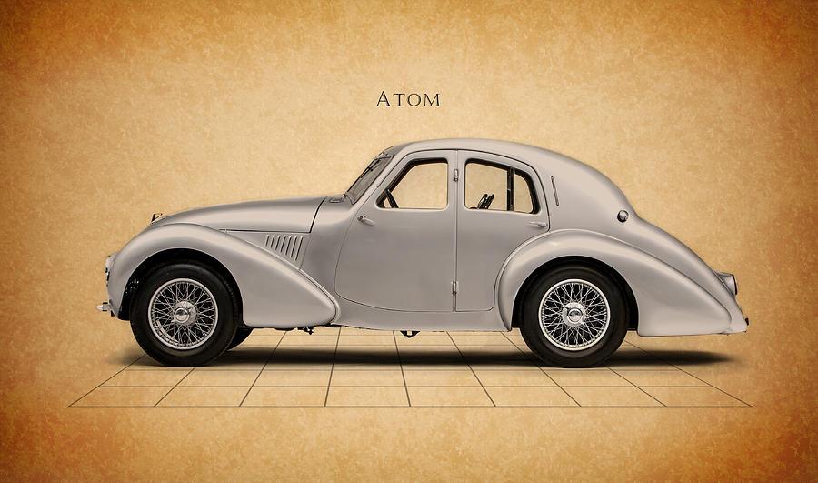 Aston Martin Atom Photograph - Aston Martin Atom by Mark Rogan