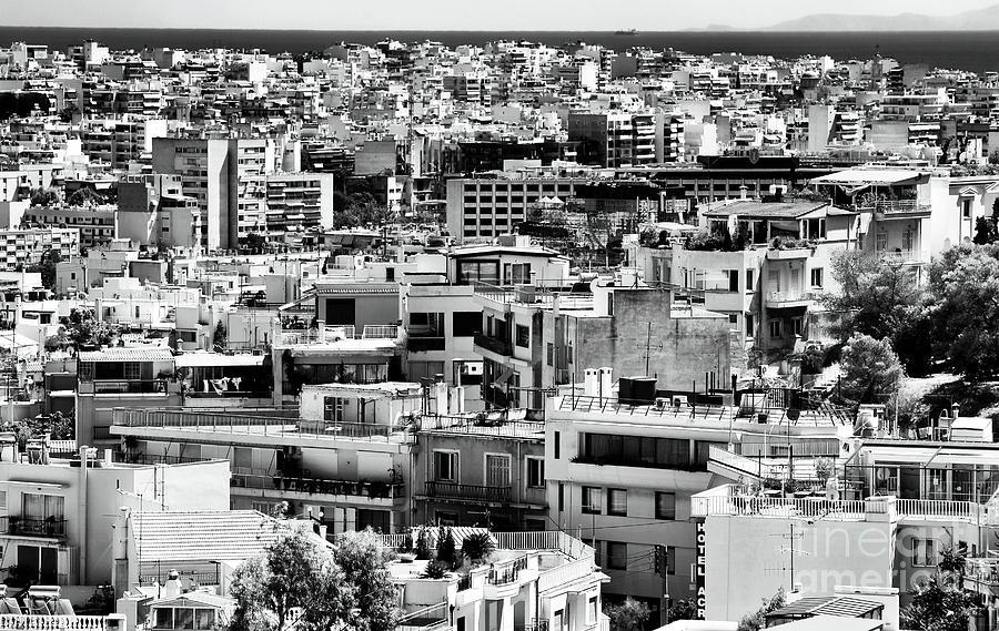 Athens Cityscape I Photograph - Athens Cityscape I by John Rizzuto