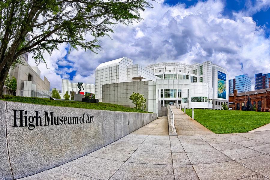Atlanta Photograph - Atlantas High Museum by Mark E Tisdale