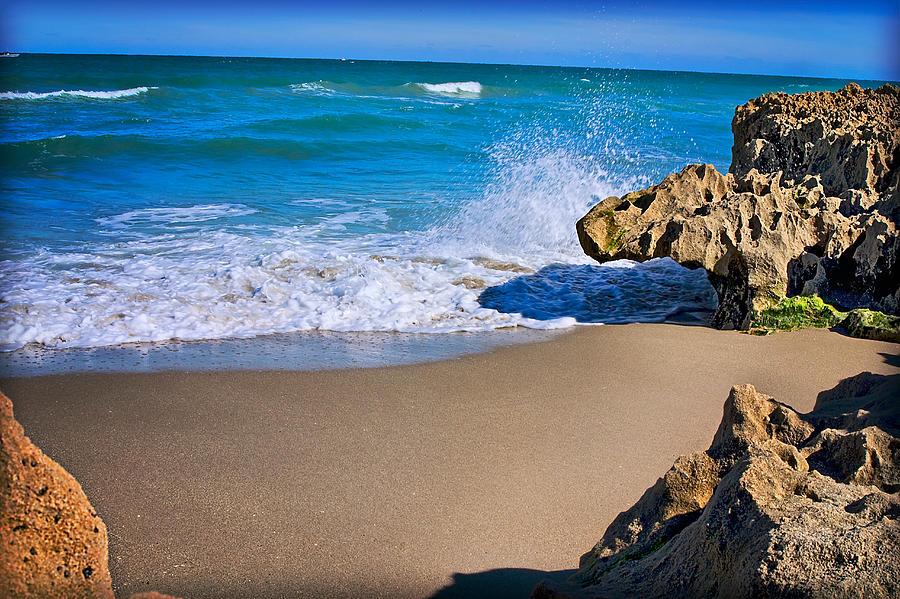Atlantic Ocean Print Photograph - Atlantic Beach by Robert Smith