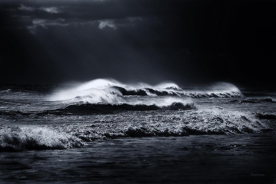 Atlantic Ocean Photograph - Atlantic Ocean by Dapixara Art
