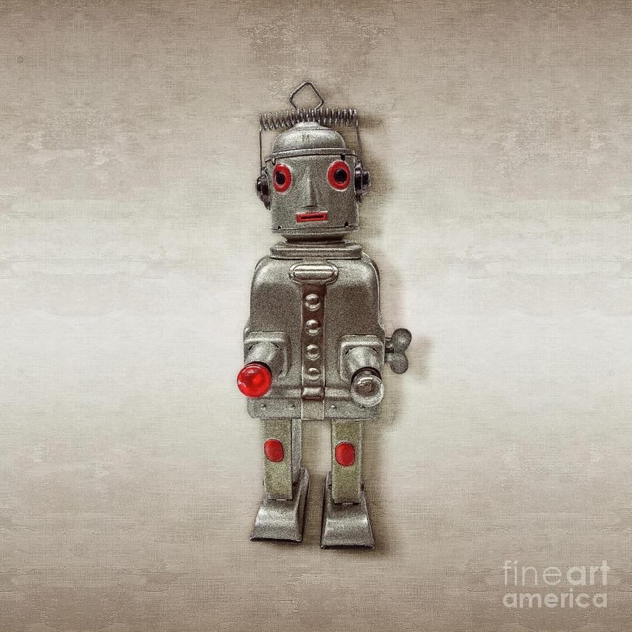 Atomic Tin Robot Photograph