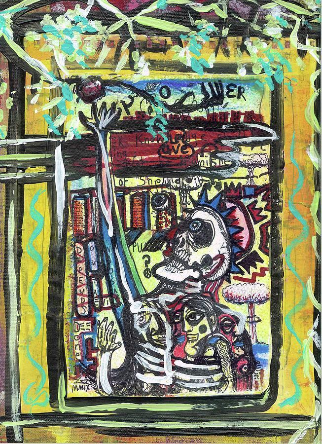 Attic Window Painting