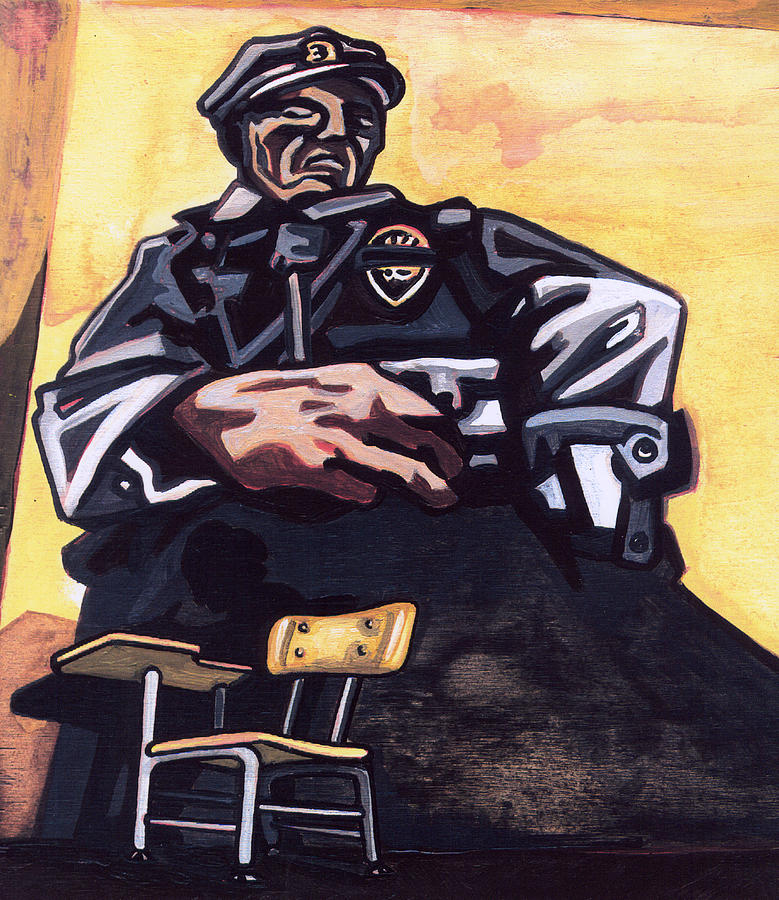 Karl Painting - Authority Figure by Karl Frey