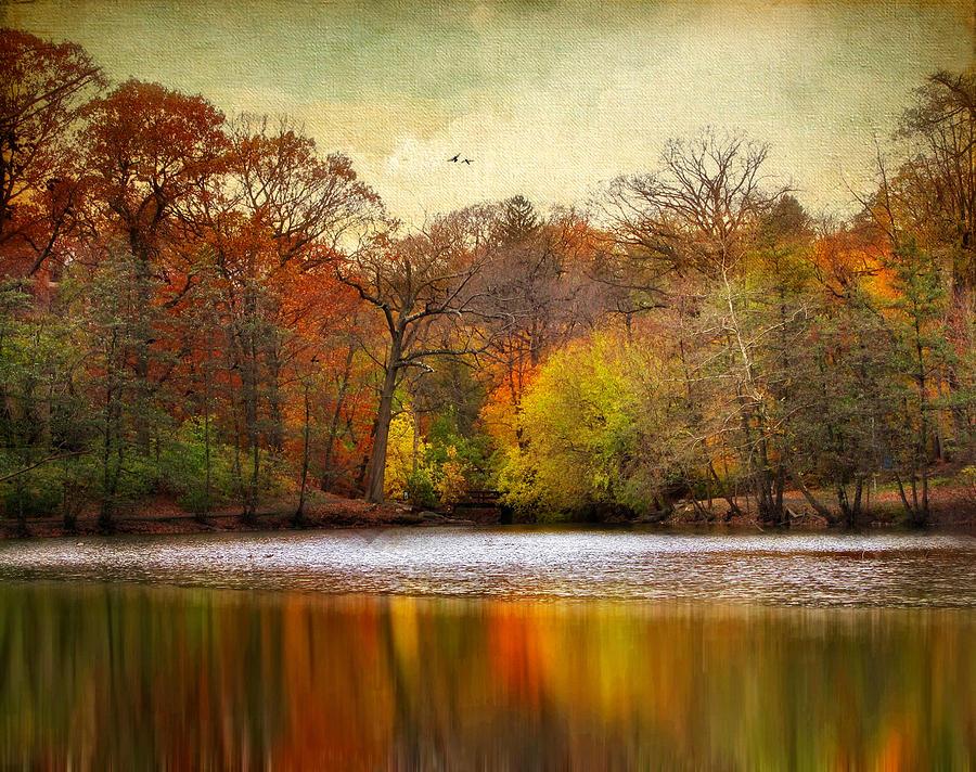 Autumn Photograph - Autumn Arises 2 by Jessica Jenney