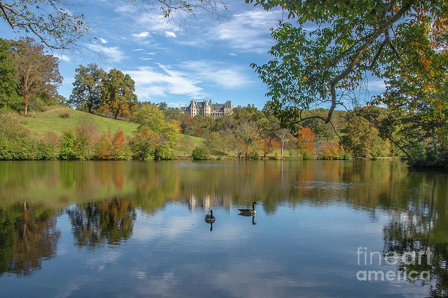 Autumn Begins At Biltmore Photograph