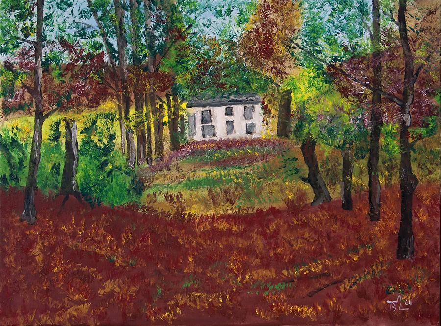 Autumn Painting - Autumn Dreams by James Bryron Love