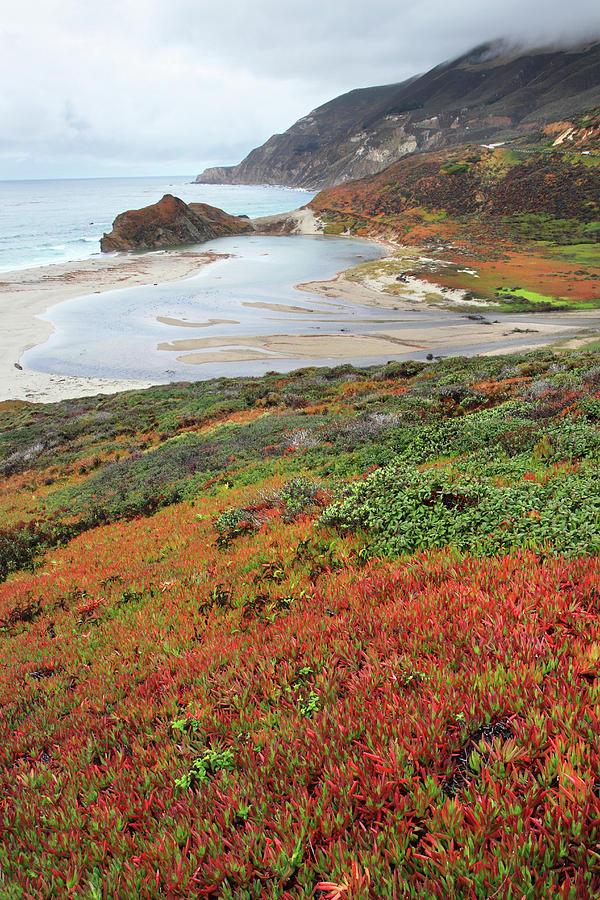 Big Sur Photograph - Autumn In Big Sur California by Pierre Leclerc Photography
