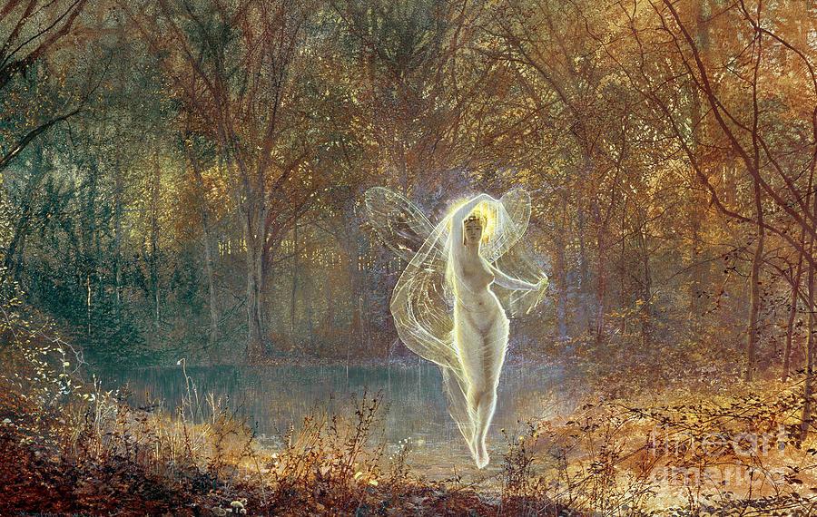 Autumn Painting - Autumn by John Atkinson Grimshaw