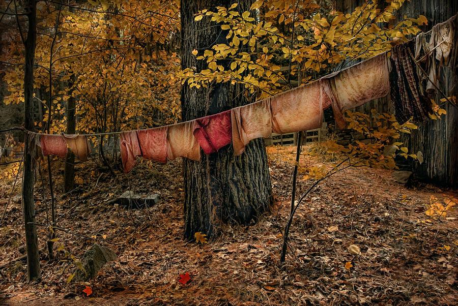 Autumn Linens Photograph