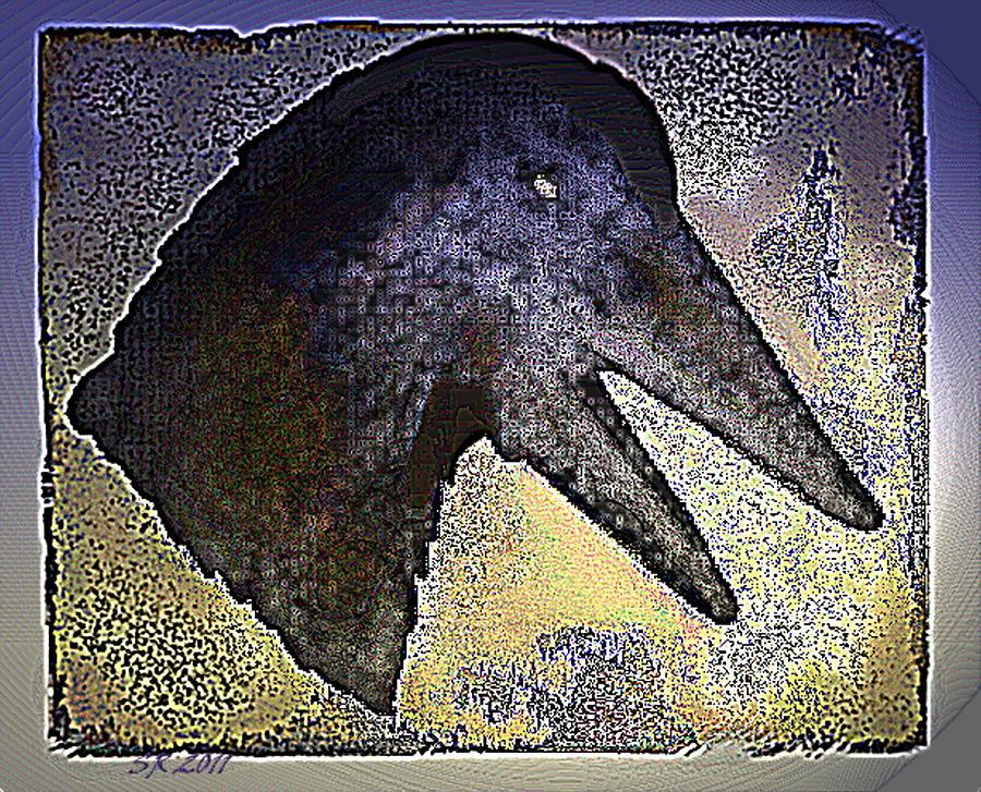 Abstract Digital Art - Avian by Steamy Raimon