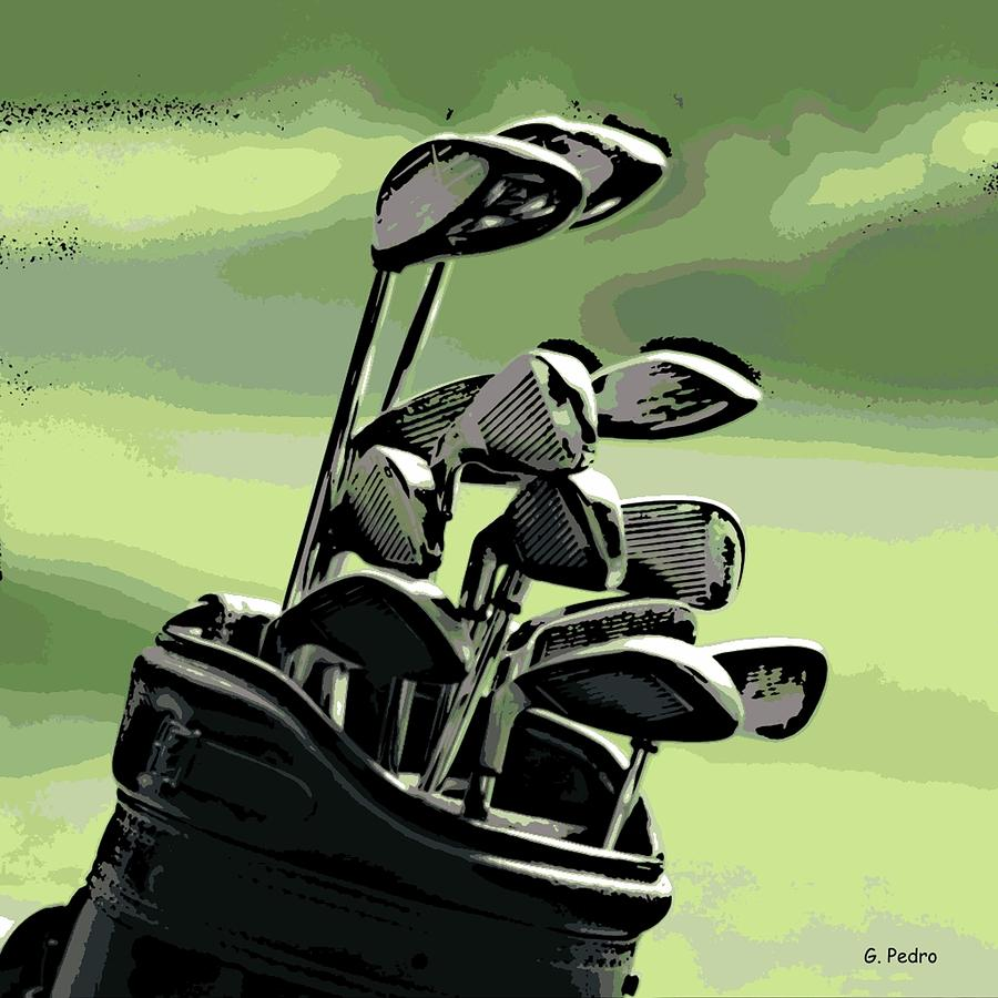 Golf Photograph - Awaiting Their Turn by George Pedro
