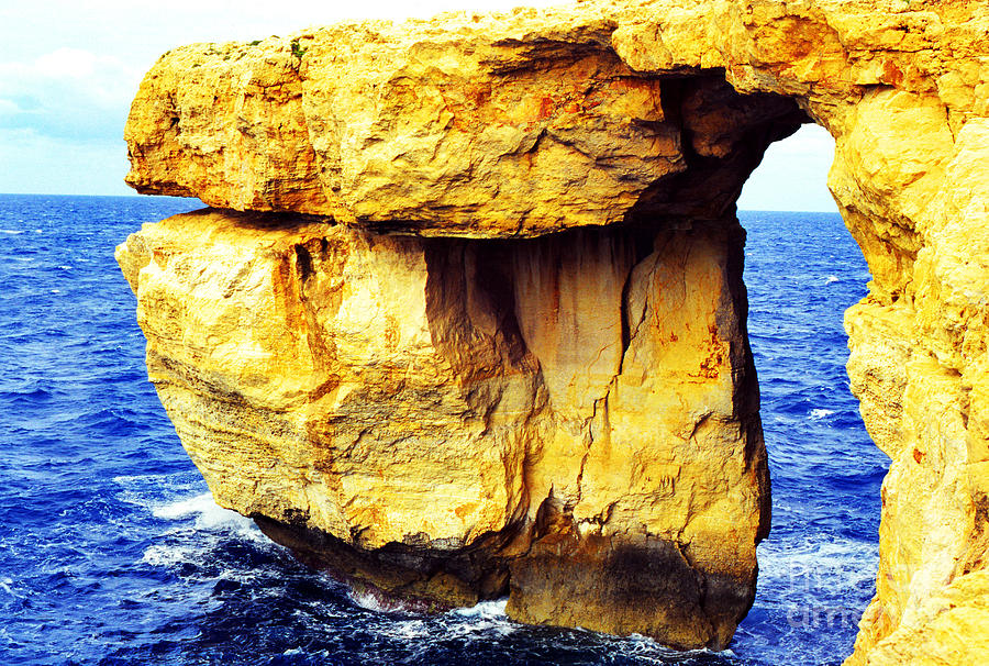 Mediterranean Photograph - Azure Window Island Of Gozo by Thomas R Fletcher