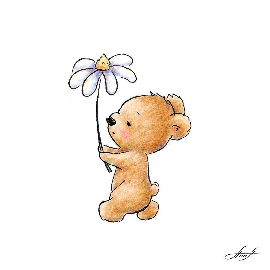 Cute teddy bears drawings
