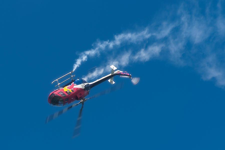 Red Bull Photograph - Backflip by Sebastian Musial