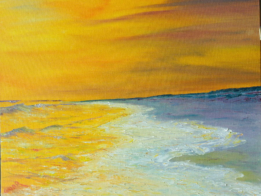 Backwash Painting - Backwash by Conor Murphy