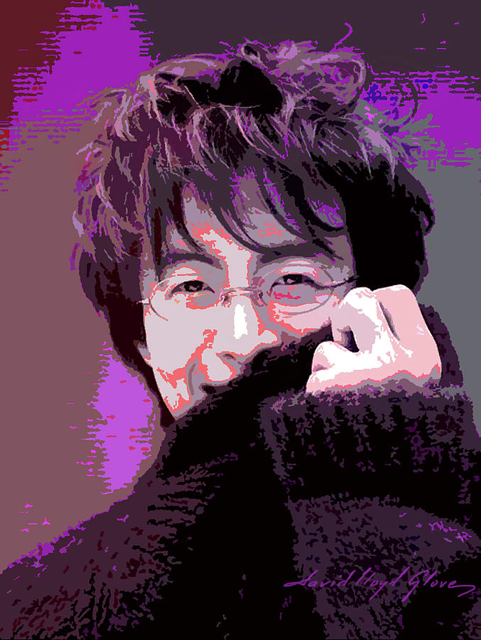 Bae Yong Joon - Winter Sonata Painting