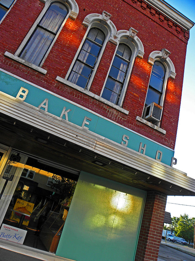 Architecture Photograph - Bake Shop by Elizabeth Hoskinson