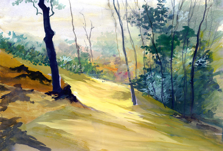 Landscape Painting - Balance by Anil Nene