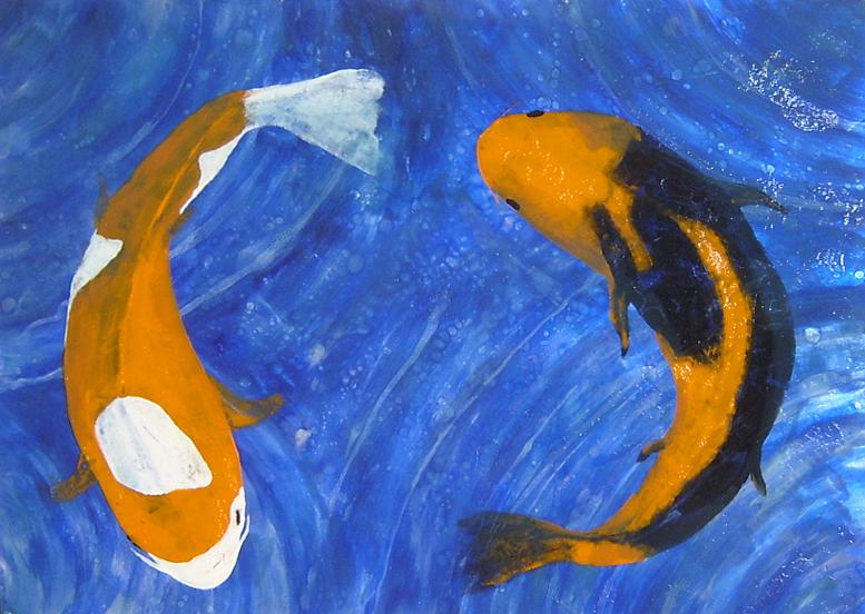 Unity And Balance In Art : Balance painting by ellen beauregard
