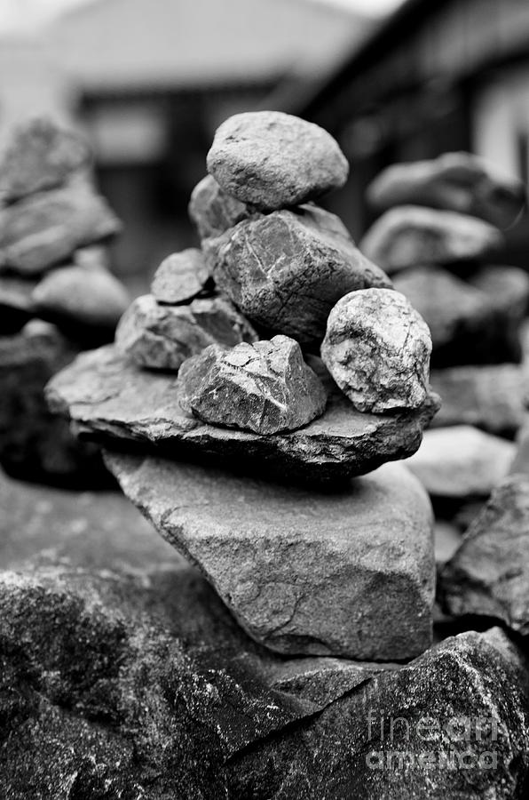 Zen Photograph - Balanced by Dean Harte