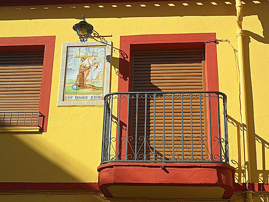 Spanish balcony photograph by john hughes for Balcony in spanish