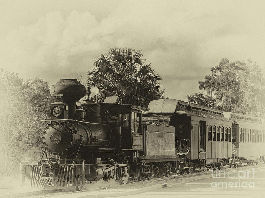 Baldwin Locomotive Iron Metal Photograph