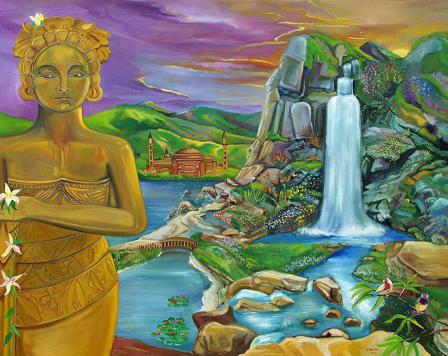 Bali Painting - Bali Dream by John Keaton