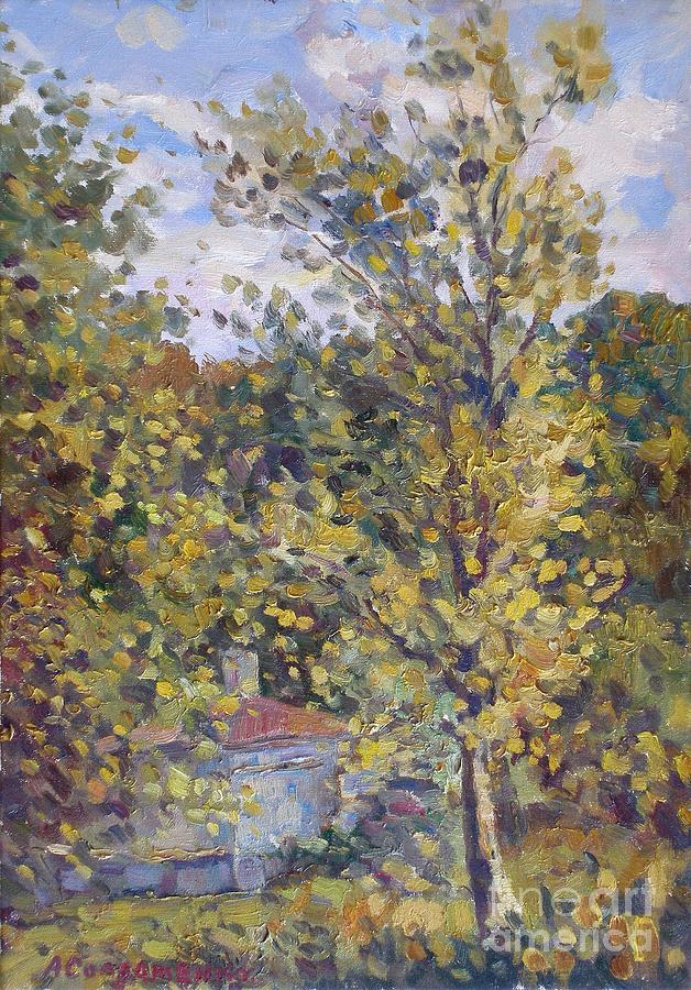 Balkans Foothills Painting