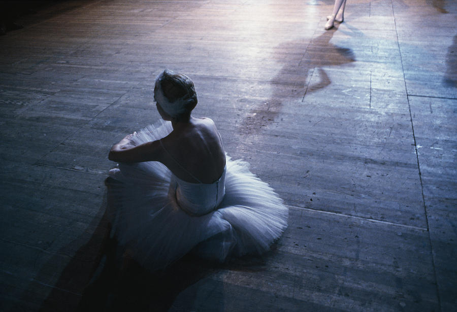 Color Image Photograph - Ballet Rehearsal, St. Petersburg by Sisse Brimberg