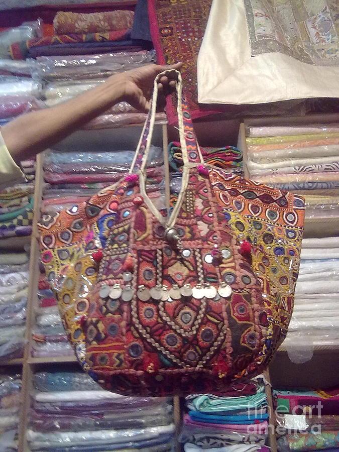 Patchwork Bag Tapestry - Textile - Banjara Bag by Dinesh Rathi
