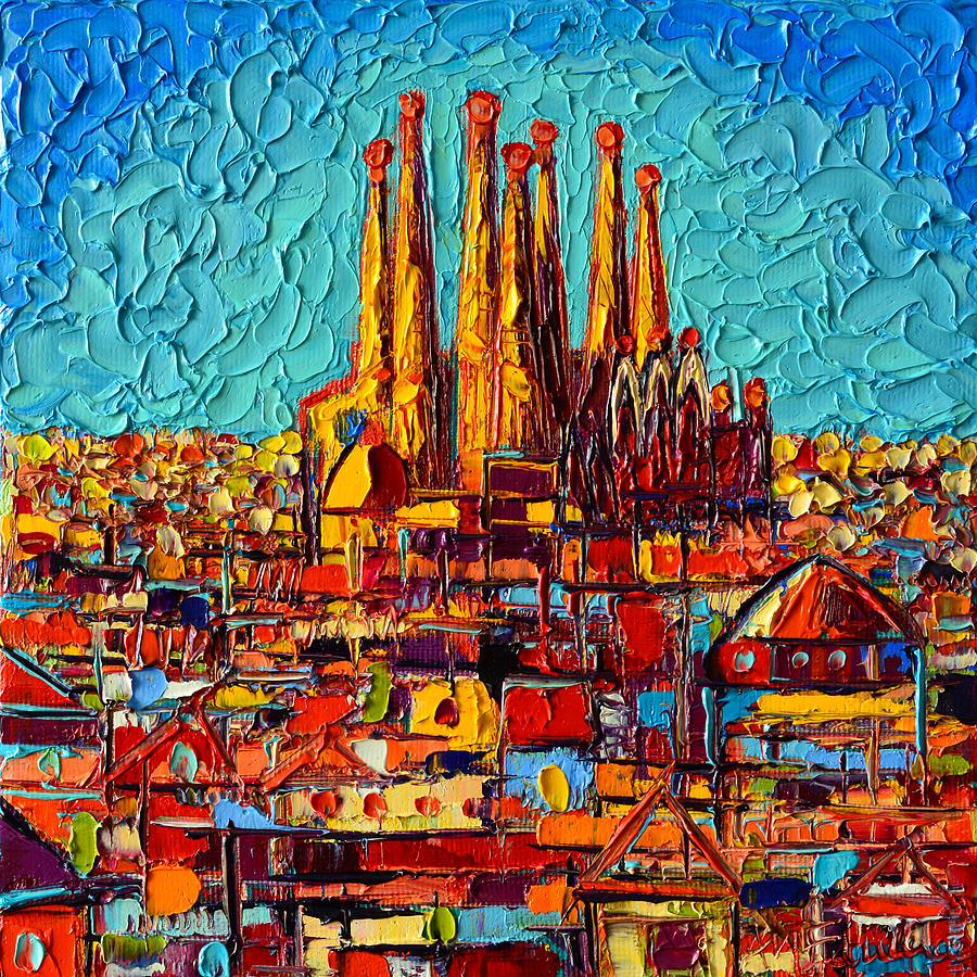 Painted Canvas Barcelona