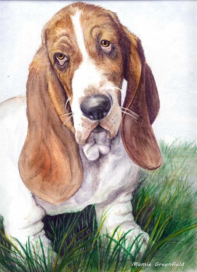 Portraits Painting - Barney by Mamie Greenfield