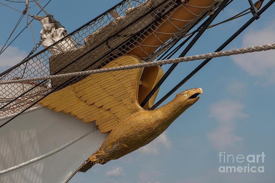 Barque Eagle Masthead Photograph
