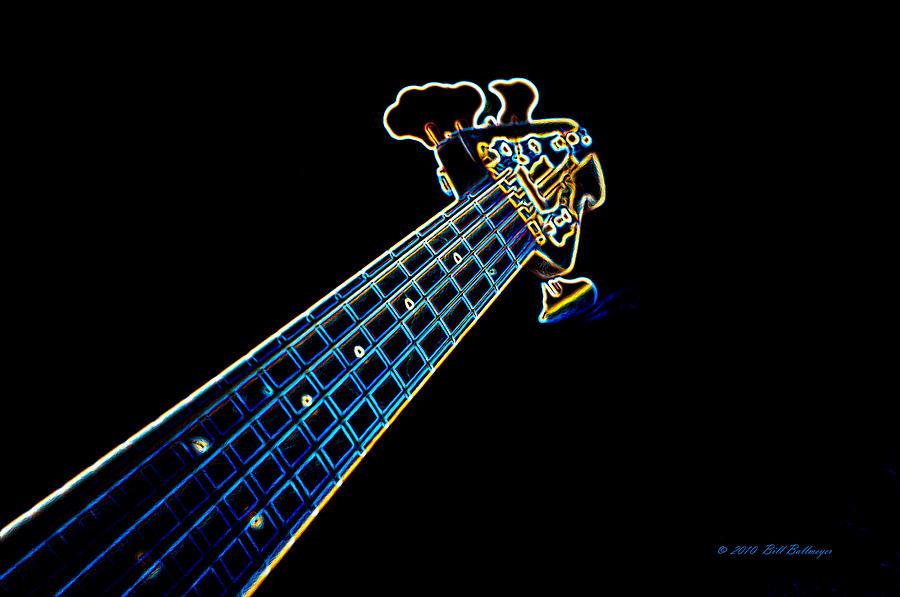Bass Guitar Photograph - Bass Guitar by Bill