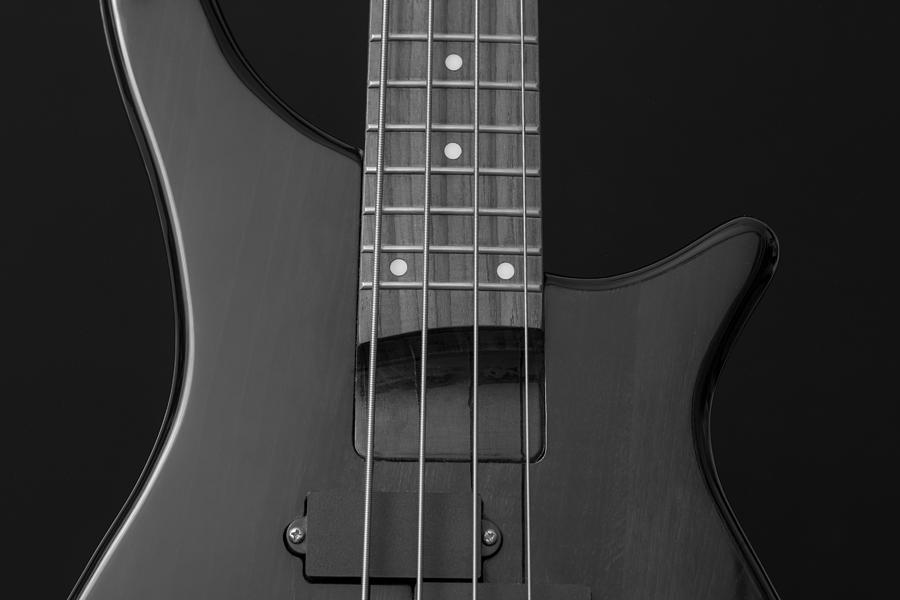 Bass guitar is a photograph by fl collection which was uploaded on